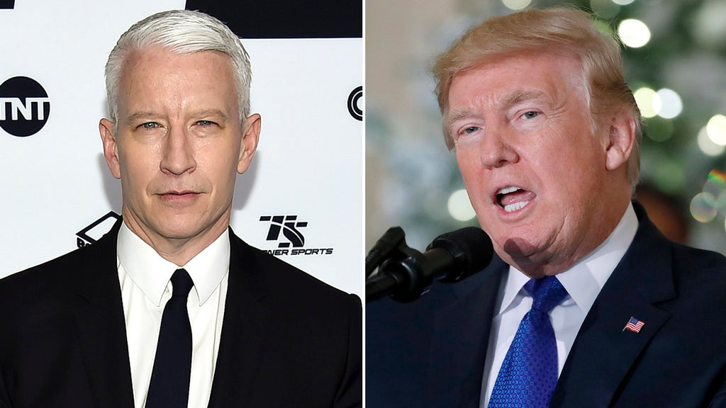 CNN's Anderson Cooper blames hacker for tweet calling Trump 'pathetic loser'