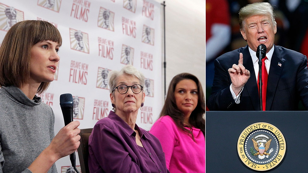 Trump sexual harassment accusers speak out, seek congressional probe