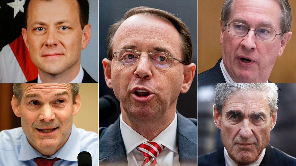 GOP pols pile on Rosenstein over agents' anti-Trump texts, 'extreme bias,' Mueller probe
