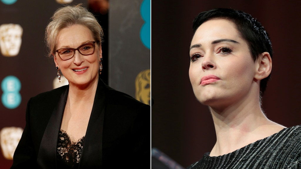 McGowan slams Streep for planning 'silent protest' at Golden Globes