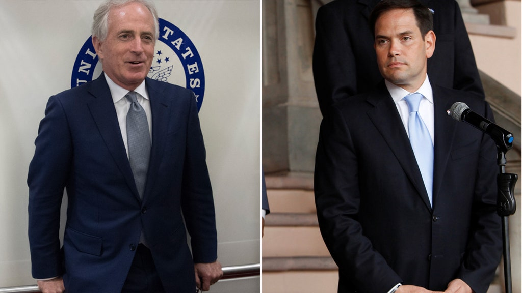 Rubio, Corker support tax bill as Trump predicts reform will pass next week