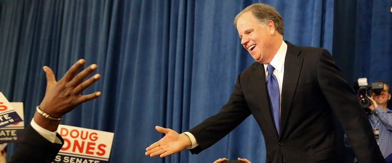 Alabama's Doug Jones under pressure to vote with GOP after Senate win
