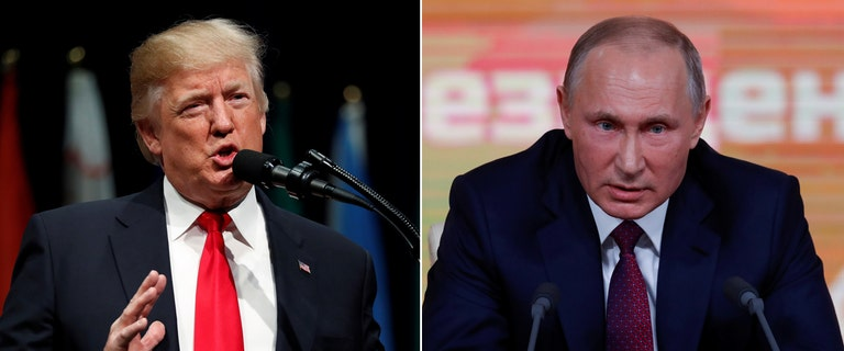 Putin thanks Trump by phone for CIA tip that thwarted terror attack, WH confirms