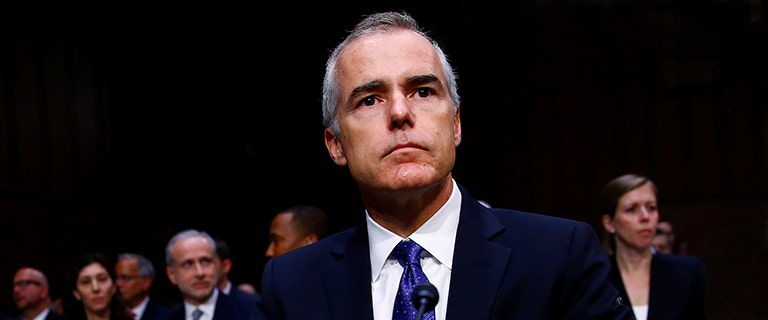 GOP turns focus to FBI's McCabe after text suggests officials discussed anti-Trump 'insurance policy'