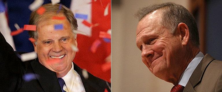 Moore refuses to concede Alabama Senate race despite Jones' apparent victory