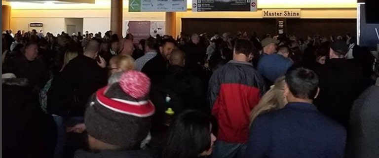 'Pandemonium' after power outage cripples nation's busiest airport as holiday rush picks up steam
