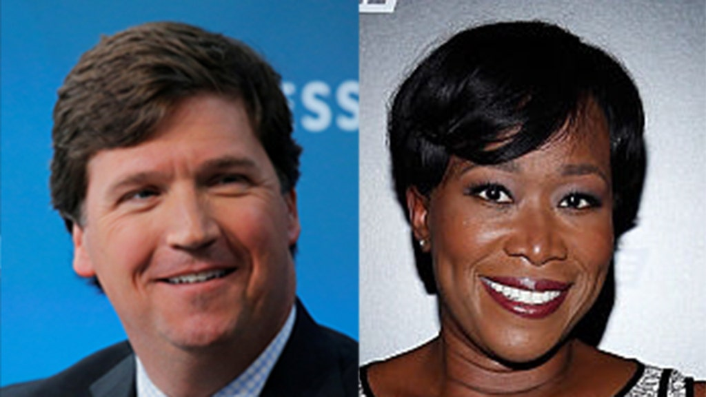 Tucker Carlson blasts 'race-baiting' MSNBC host