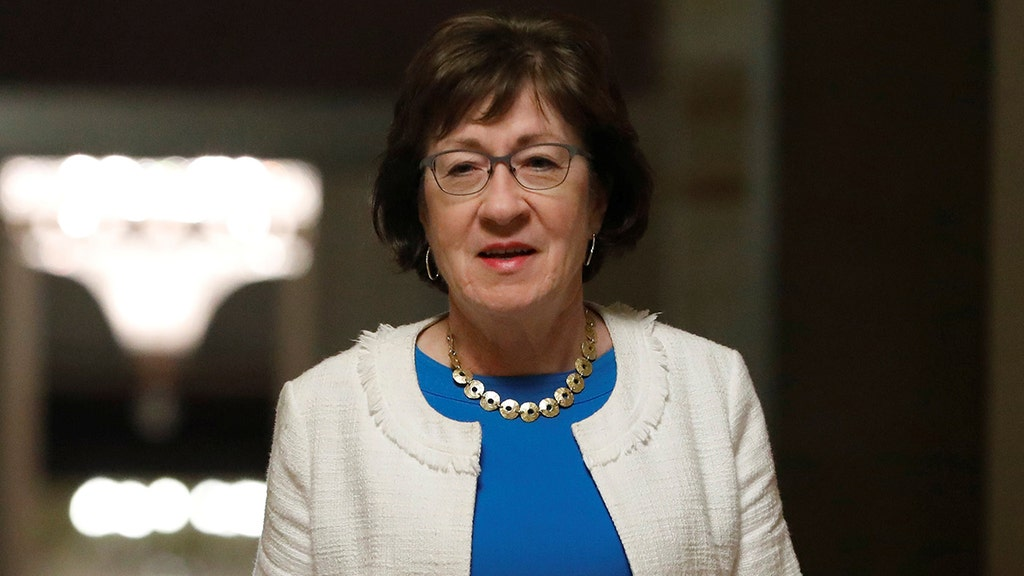 Glass elephant nearly shattered after Sen. Collins makes negotiators use 'talking stick,' reports say