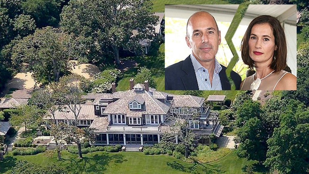 Wife of disgraced Lauer sends him packing from Hamptons mansion