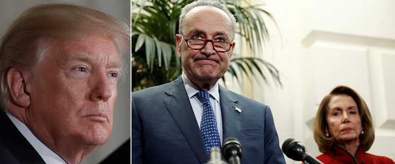 Trump's relationship with top Democrats 'deteriorating' as shutdown stretches into third day