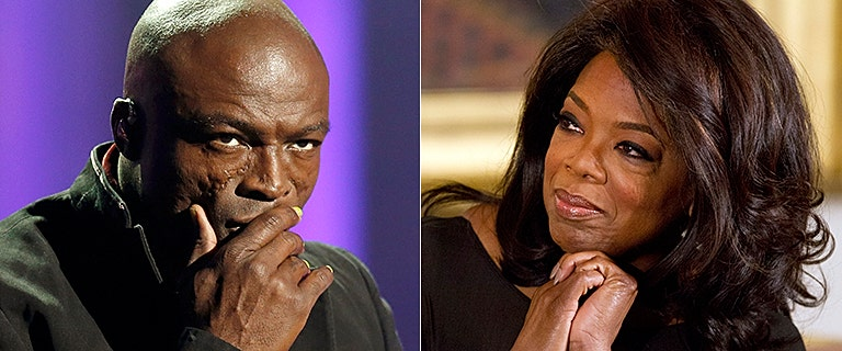 Pop star Seal calls out Oprah Winfrey for hypocrisy days after widely praised Golden Globes speech