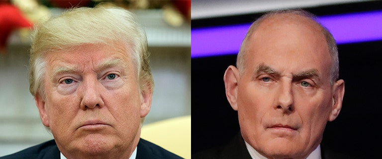 John Kelly opens up on Trump's immigration terms, says president is open to changing his mind