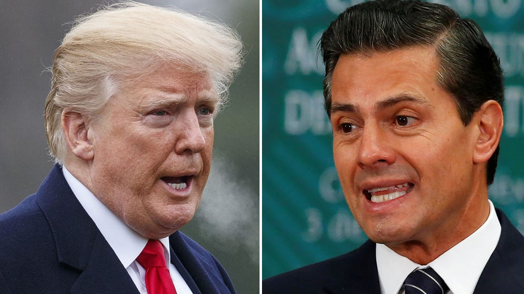 Phone call between Trump, Mexican president goes south