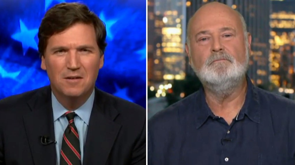 Tucker Carlson takes on Hollywood's Rob Reiner over 'treason' tweet