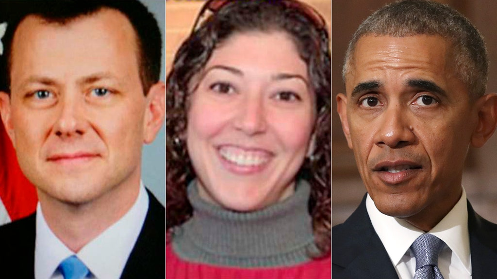 FBI lovebirds' newly revealed texts discuss Comey briefing Obama amid Clinton, Trump probes