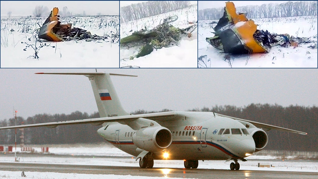 All 71 people aboard passenger plane killed after it crashed outside Moscow shortly after takeoff