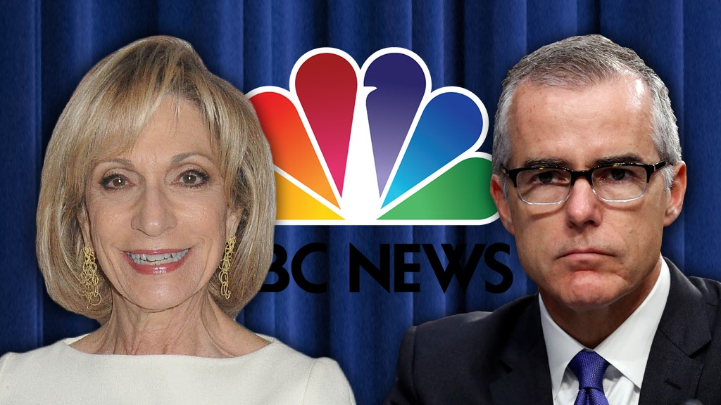 NBC News star inspired Dems to offer fired FBI official McCabe new gig