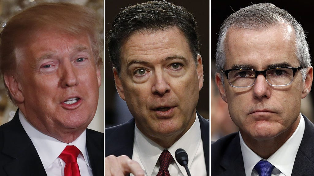 Trump unloads on fired FBI bosses -- and former intel officials hit back