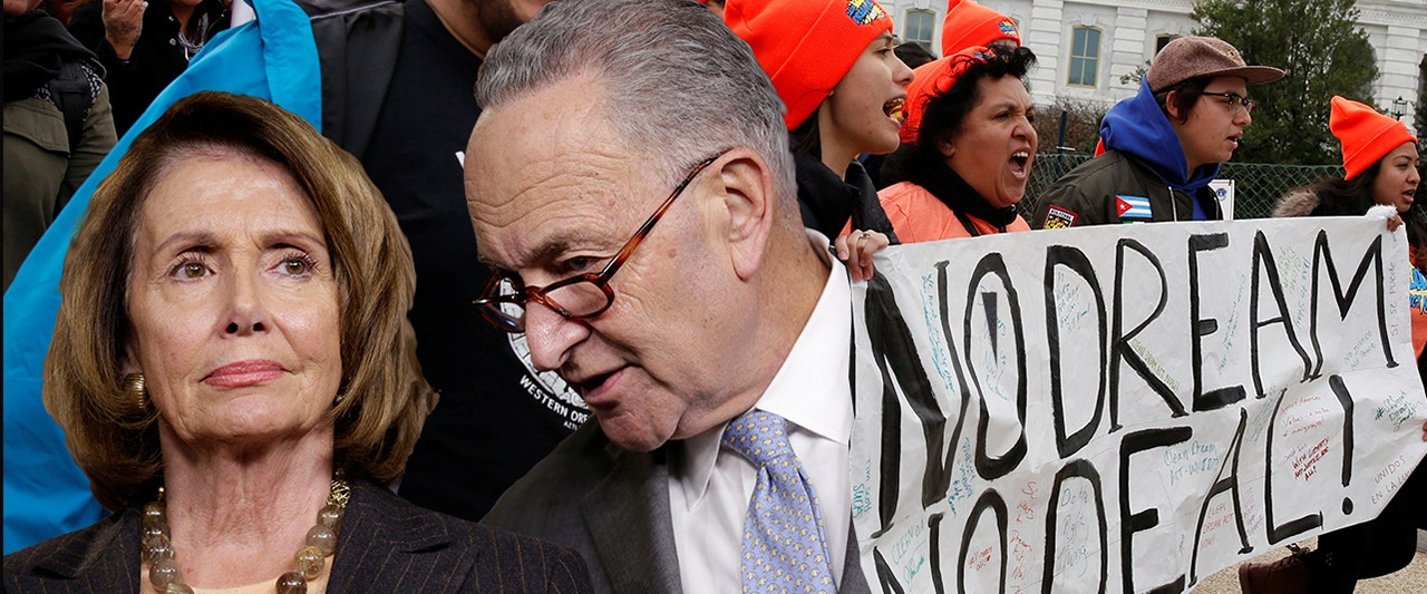 Illegal immigrants turn on Democrats for DACA inaction, 'false promises'