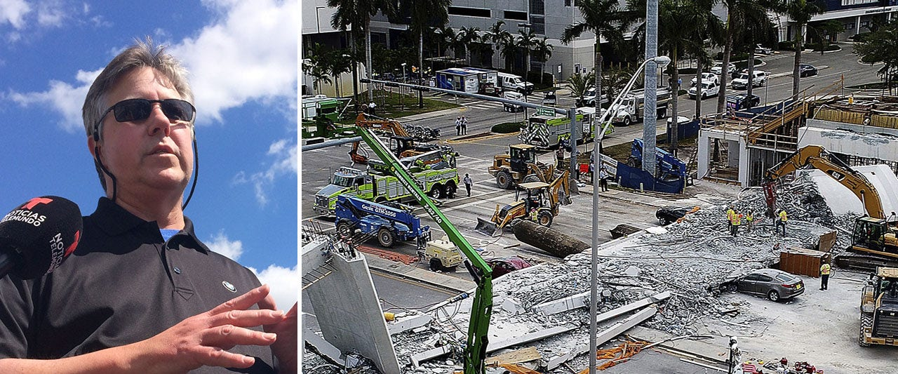 Bridge collapse victim's uncle blasts decision to let cars pass below unfinished span