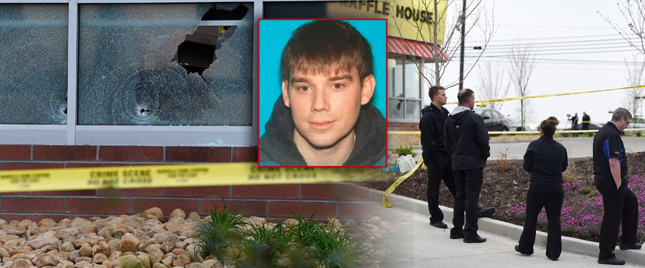 Hunt on for gunman after 4 killed in Waffle House rampage; diner called 'hero' after tackling shooter