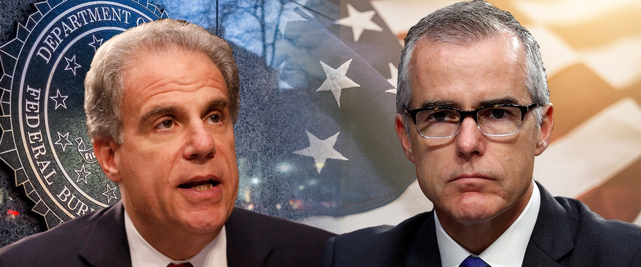 DOJ watchdog recommends criminal charges for former acting FBI boss McCabe over lies