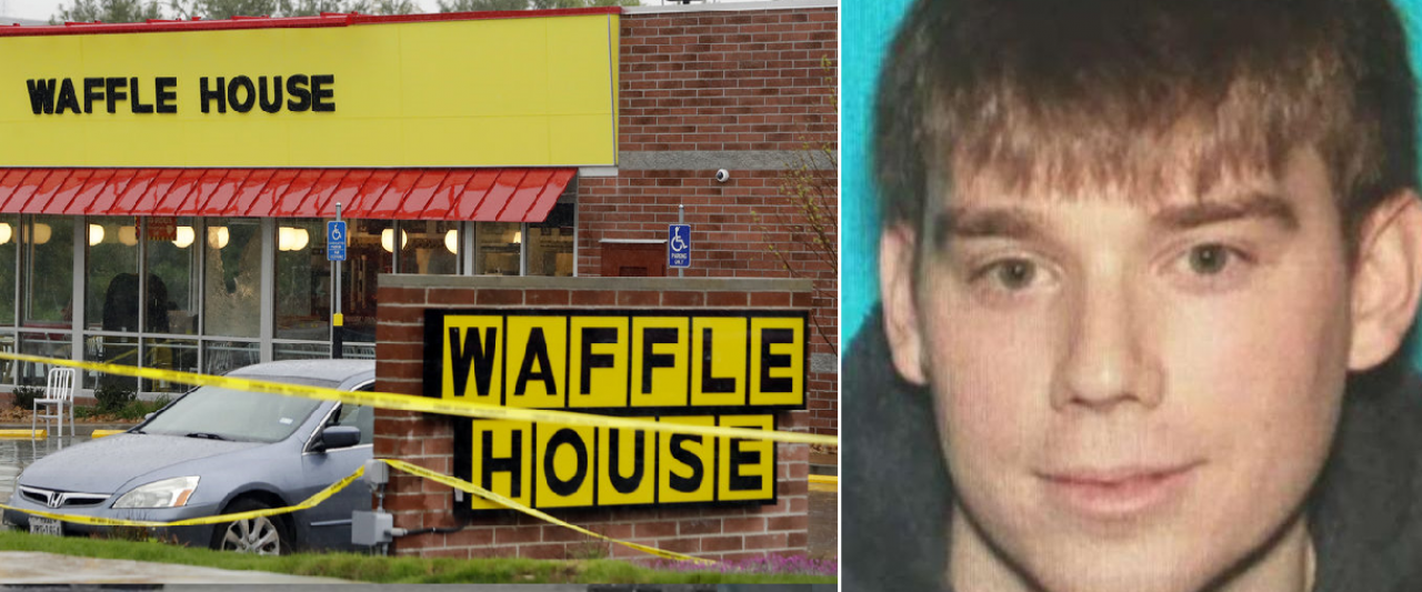 Nashville locked down as Waffle House killer believed to be  armed, dangerous and hiding nearby