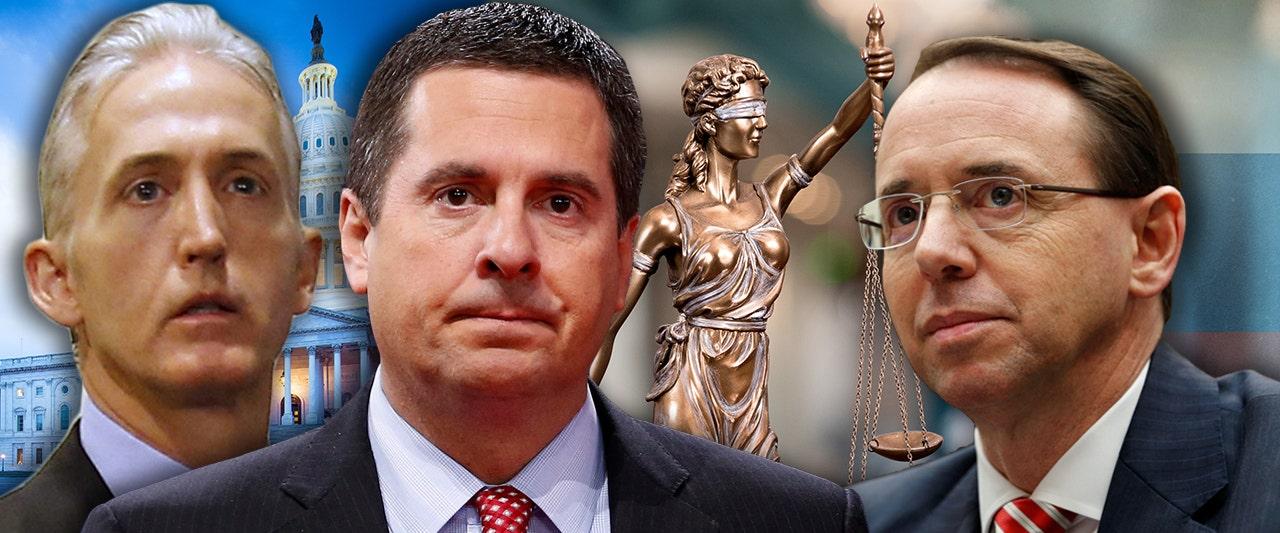 Rosenstein finally reveals Strzok's secret Russia probe memo after Nunes threatens subpoena