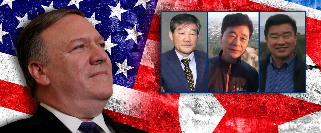 3 Americans detained in North Korea 'in good health' and on way back to US with Pompeo, Trump says