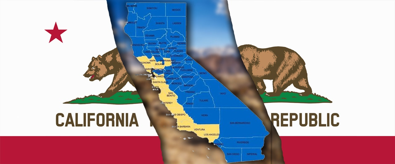 Movement to split California into three states fractures over borders after making ballot