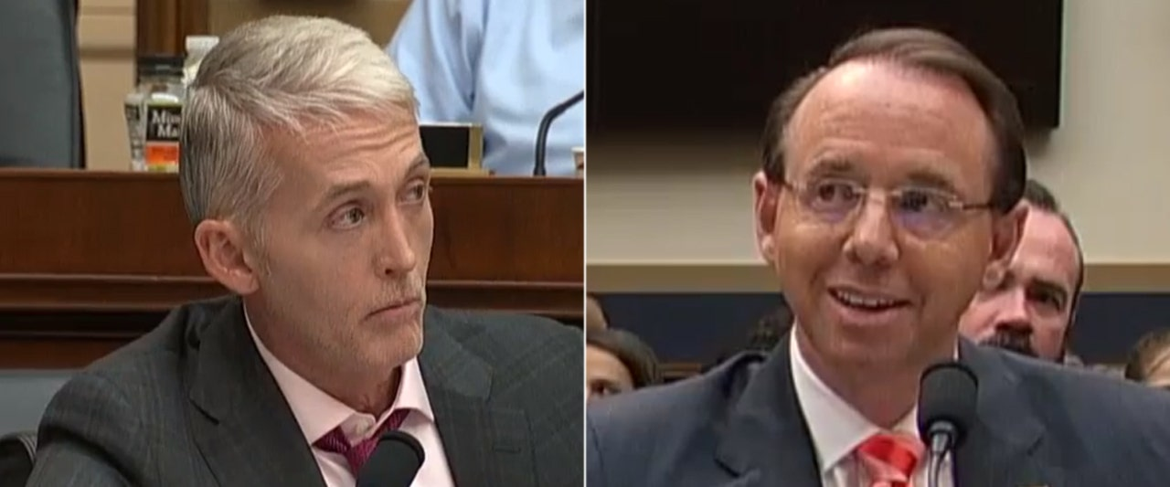Gowdy tells Rosenstein to wrap up Russia probe, says it's tearing the country apart
