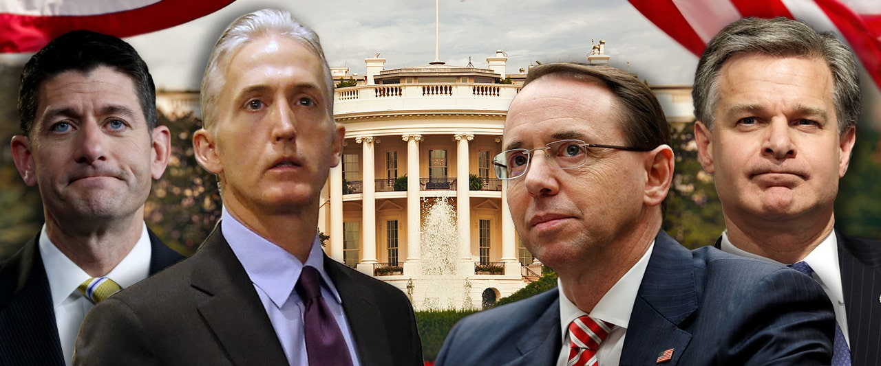 GOP will hit FBI, DOJ with 'constitutional weapons' if they don't comply with subpoena: Gowdy