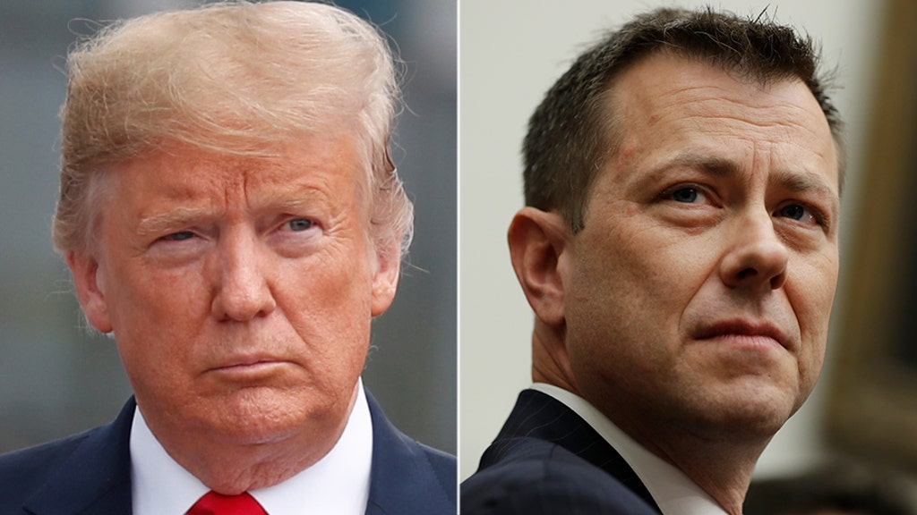 Trumps blasts FBI Agent Strzok's testimony on Capitol Hill