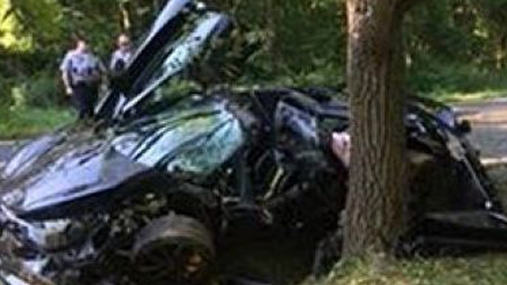 McLaren 720S sports car 'destroyed' in crash the day after it was bought