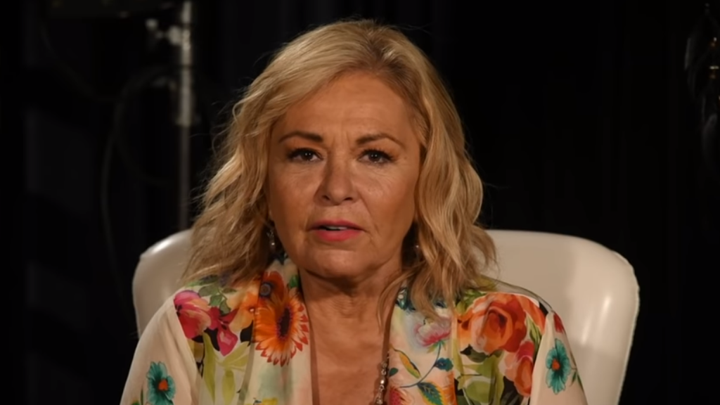 Roseanne claims her vote for Trump doomed show