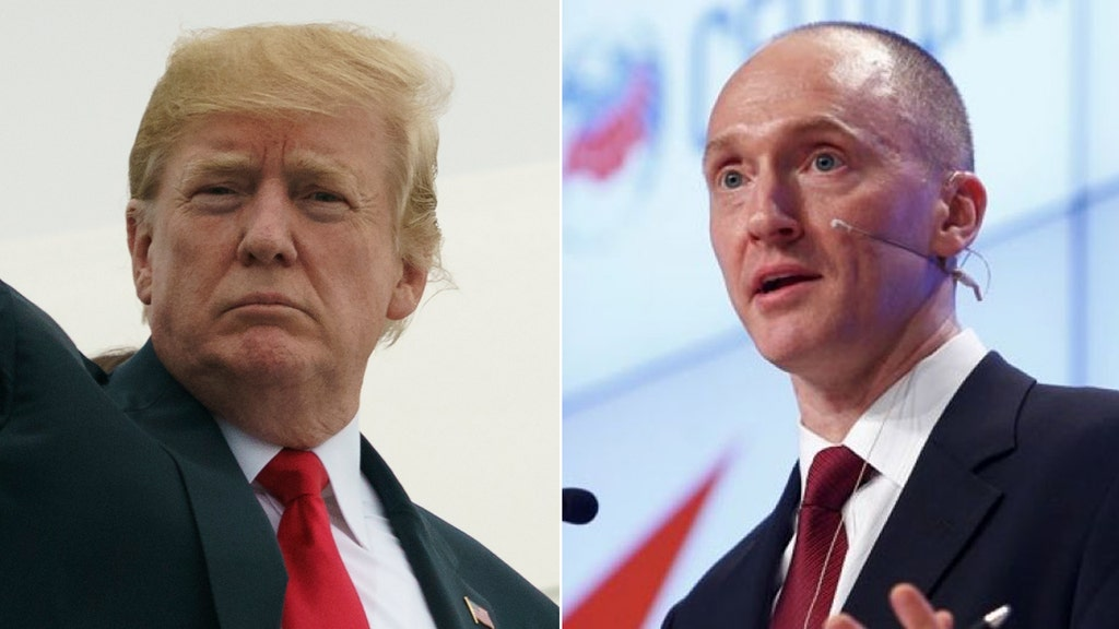 House Intel GOP asked Trump to reveal parts of Carter Page FISA application