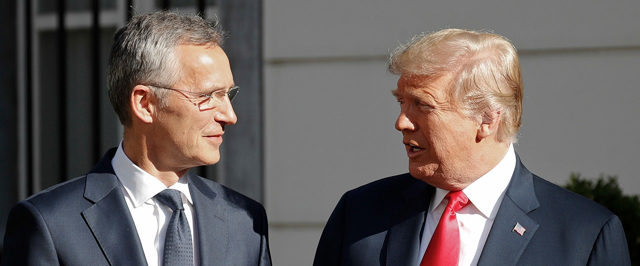 Trump calls out NATO over defense funding, Russian energy deal in testy exchange with European leader