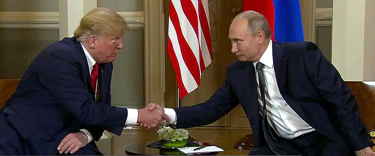 Trump Putin summit live updates: Trump and Putin meeting privately at Helsinki presidential palace (apnews.com)