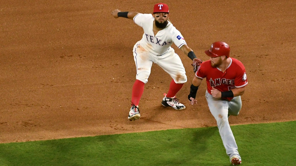 WATCH: Texas Rangers make historic triple play in defeat of Angels