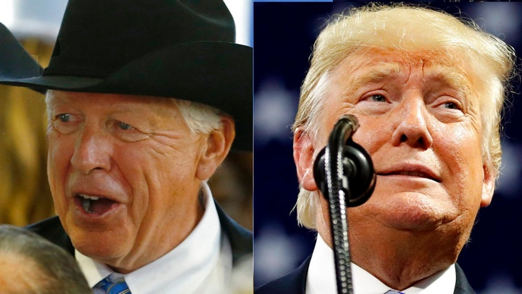 Candidate backed by Trump loses fiercely contested Wyo. gov race