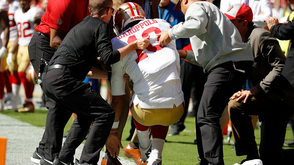 49ers' $137M QB may be out for season after trying to stay in bounds