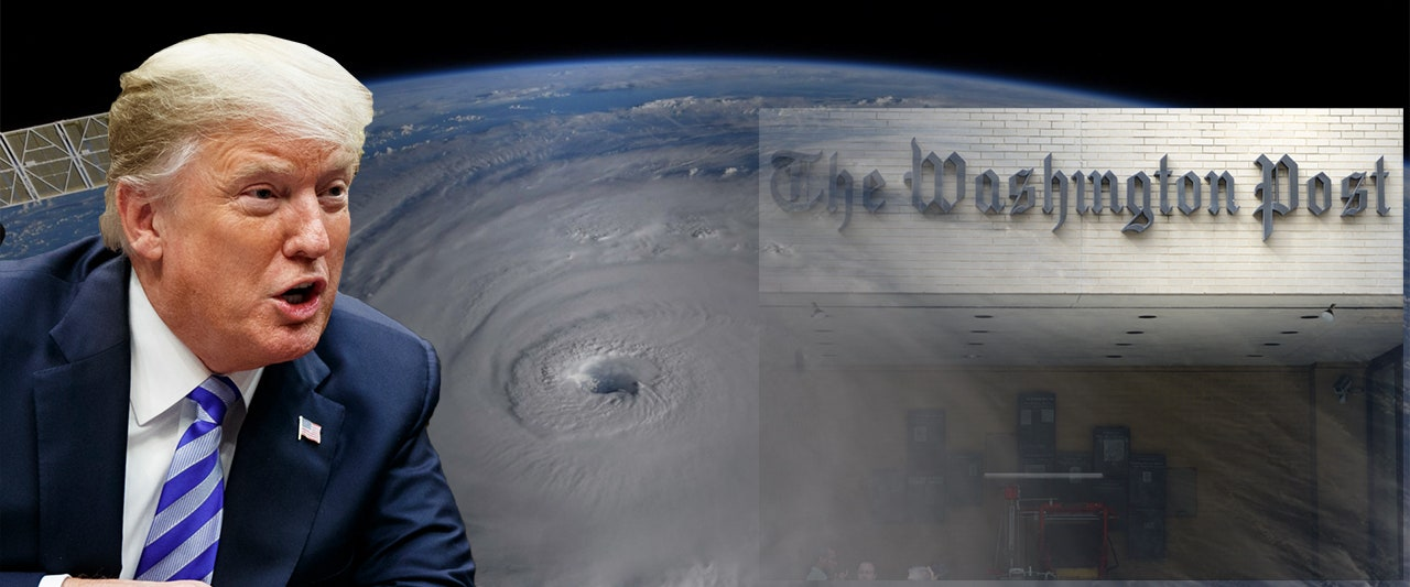 Washington Post calls president 'complicit' as Hurricane Florence poised to ravage Carolina coast