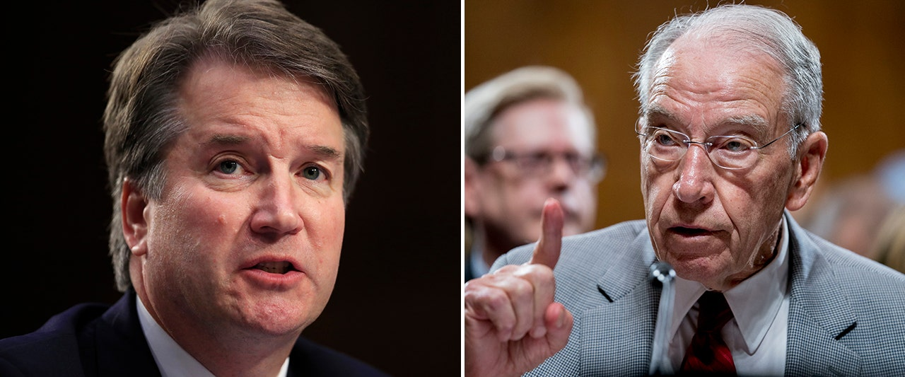 Grassley promises evaluation of new claims against Kavanaugh, hits Dems for withholding info