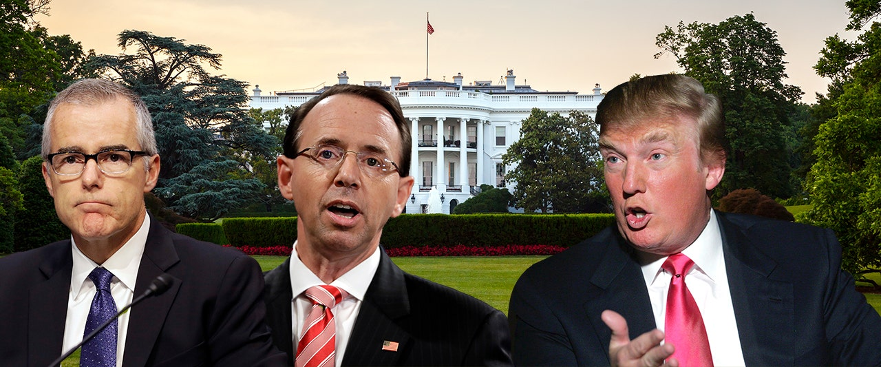 Rosenstein discussed wearing wire to catch President Trump in 25th Amendment trap: report