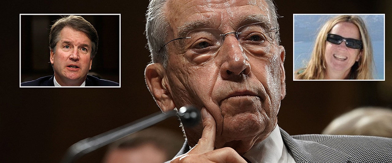 Grassley OKs Kavanaugh accuser's request to delay testimony decision