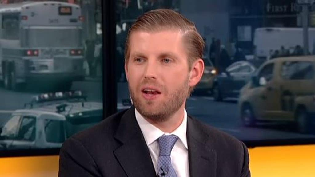 Eric Trump says he hopes this Dem runs for president: 'It'd be amazing comedy'