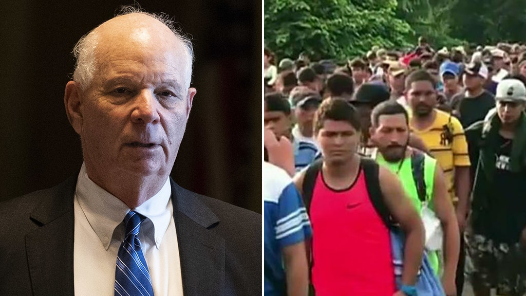 Dem senator blasted by opponent after saying US 'should try to help' caravan