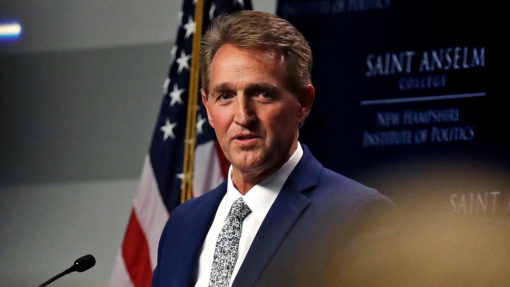Flake blasts 'disturbing' chants at Trump rallies, fears for GOP party's future