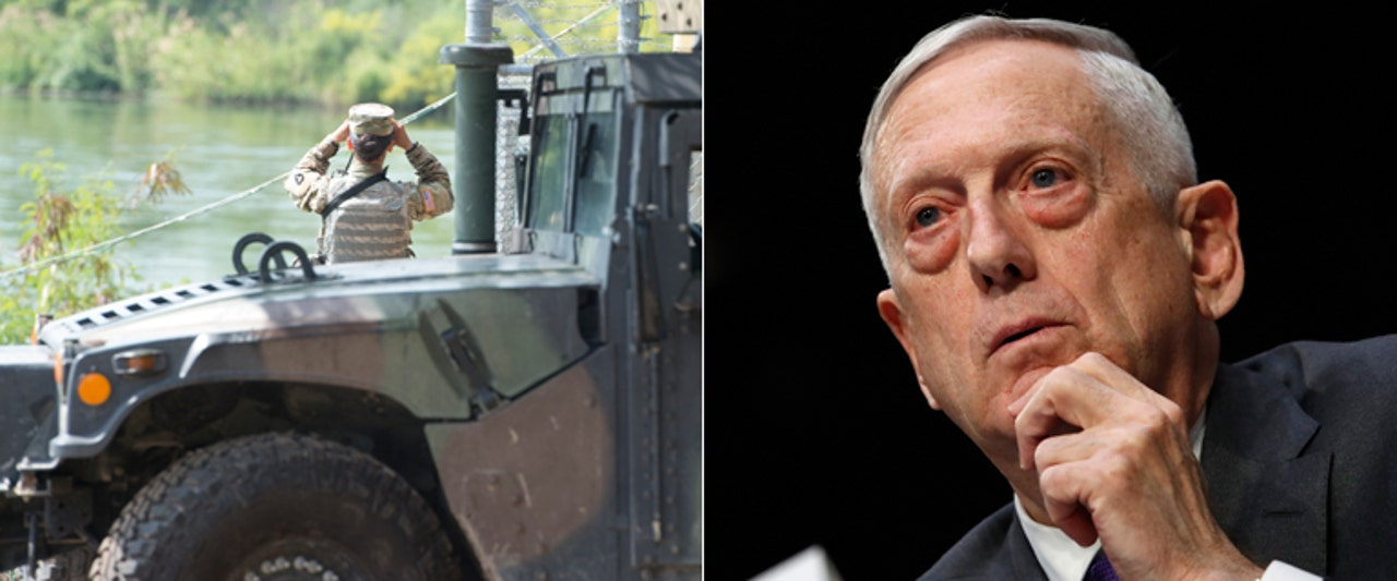 'Mad Dog' Mattis gives no-nonsense response to reporter questioning troop deployment
