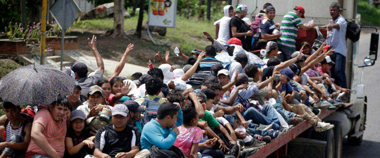 US, Mexico agree on plan to handle approaching migrant caravan from Central America